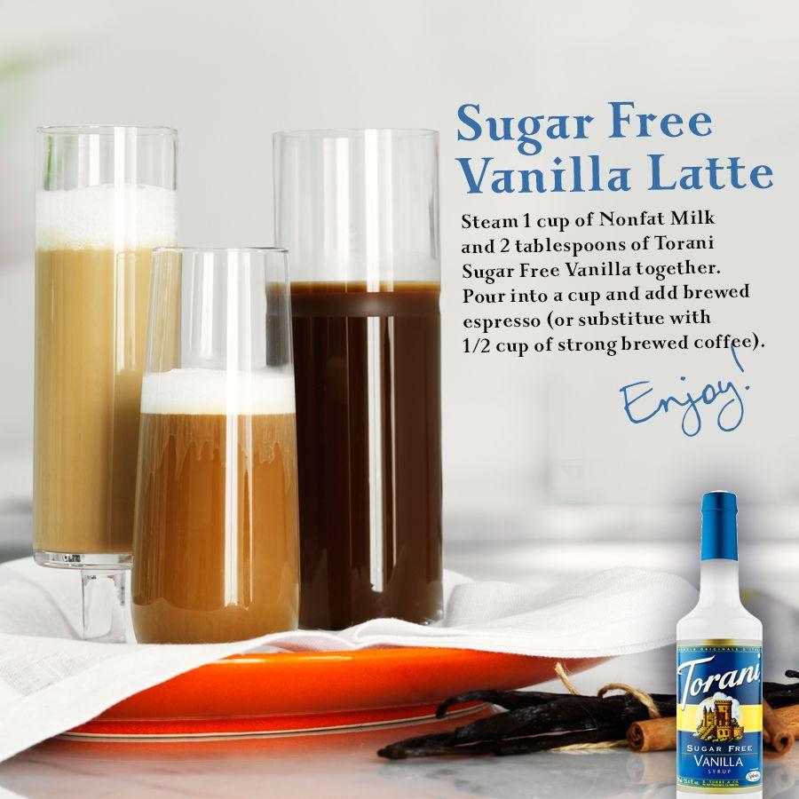 Torani Sugar Free Vanilla Latte