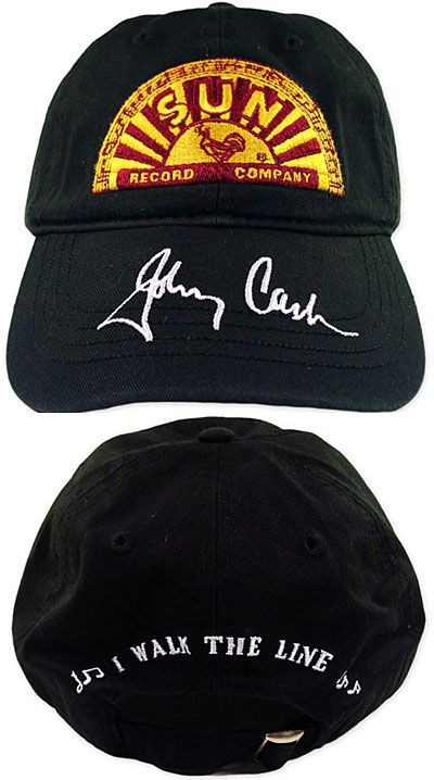 Official Johnny Cash Hats amp Accessories