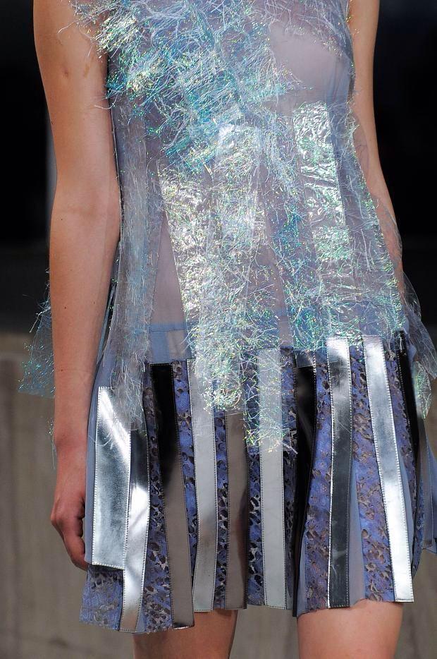 +++ Gosia Baczynska + Spring / Summer 2014 + PFW + RTW +++ #GosiaBaczynska #FirstShowInParis #Disco #Neoprene #holographic #sheer #houndstooth #lace #fashion #moda #verano2014 #verao #fashionweek #Paris #pfw #ss2014 #spring2014 #rtw #mode #summer2014  @GosiaBaczynska @ISAZAalejandro