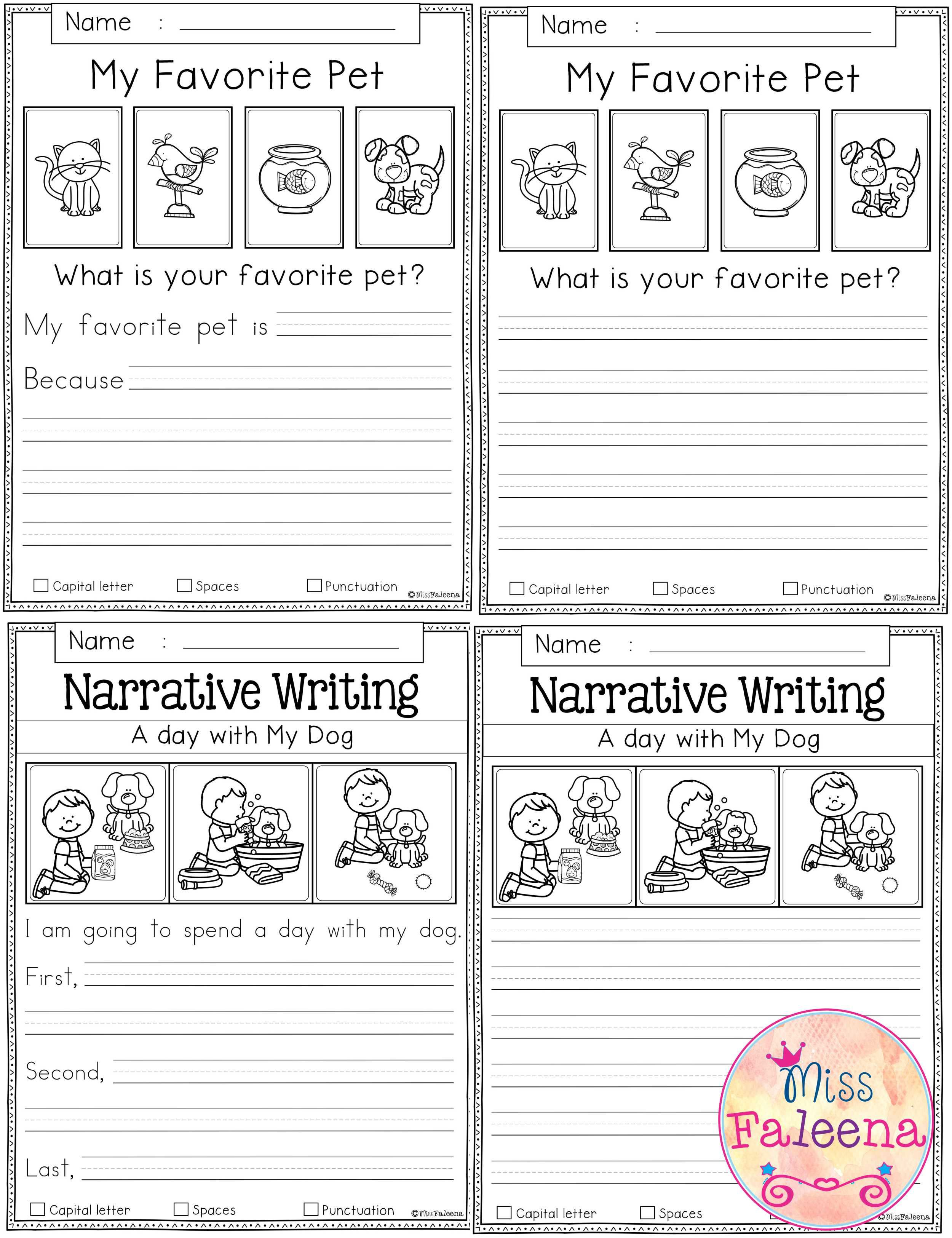 Free Writing Prompts With Images 1st Grade Writing Prompts