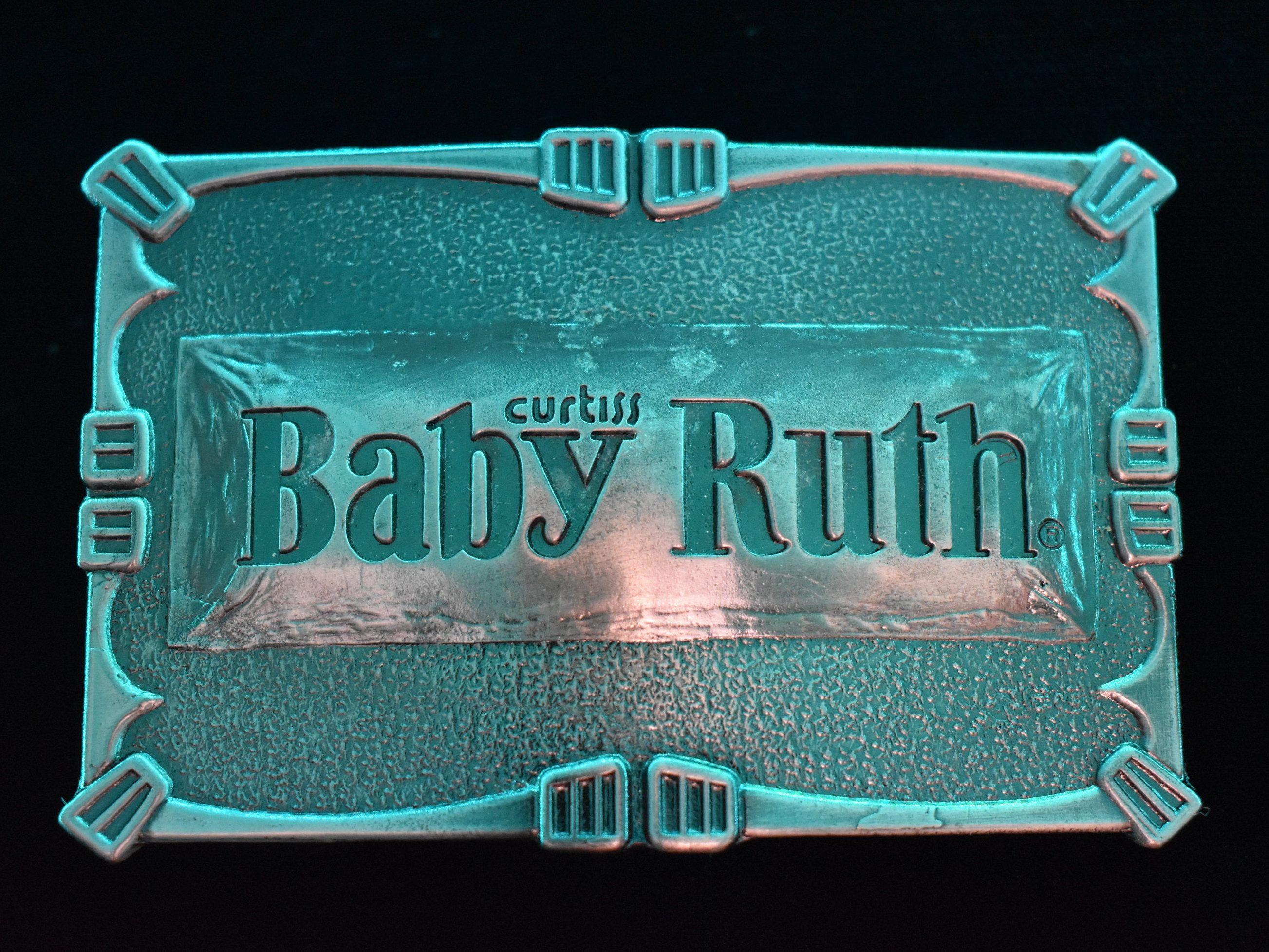 Baby Ruth Candy Bar Vintage Belt Buckle   Vintage belt ...