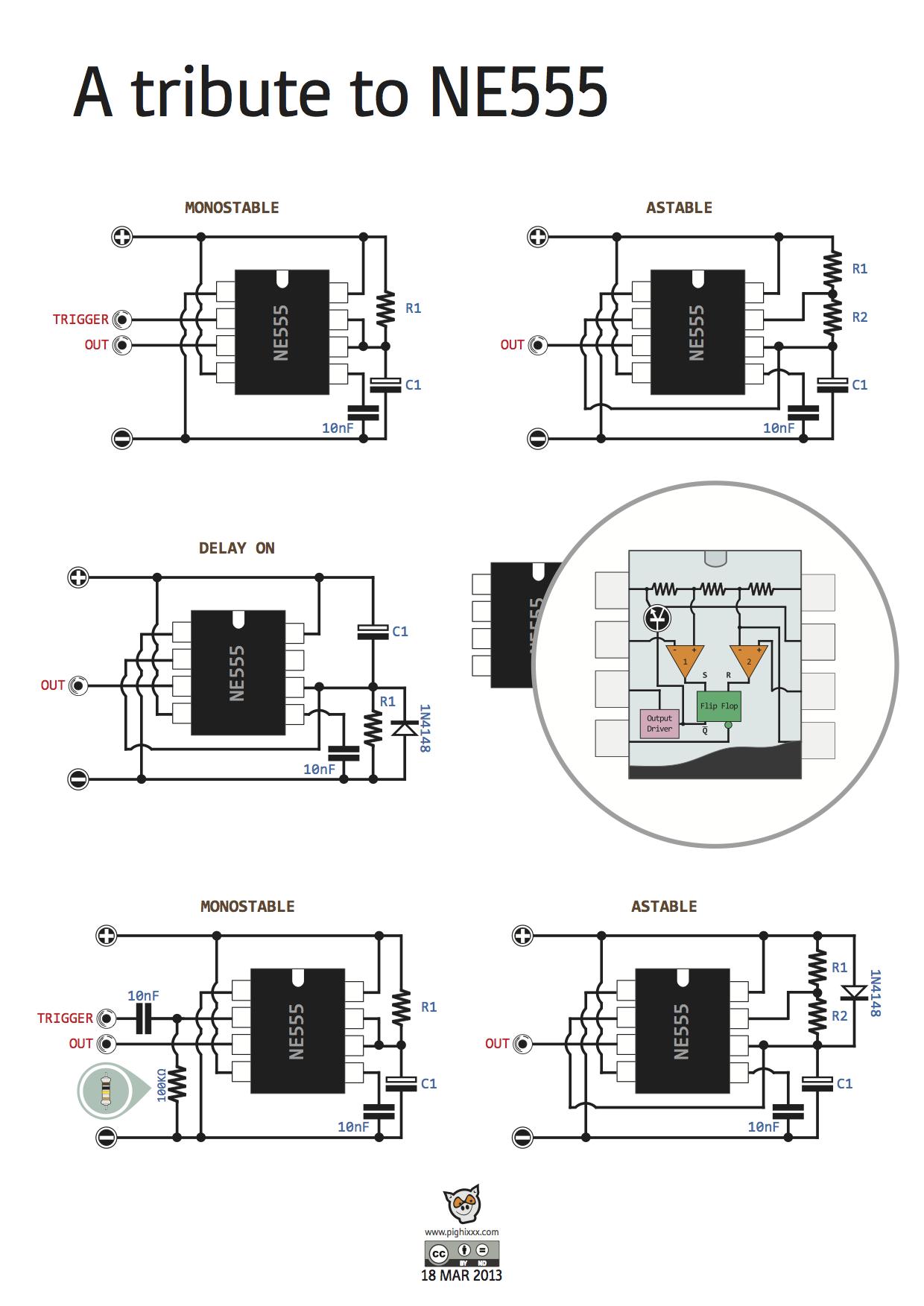 games timer circuit diagram