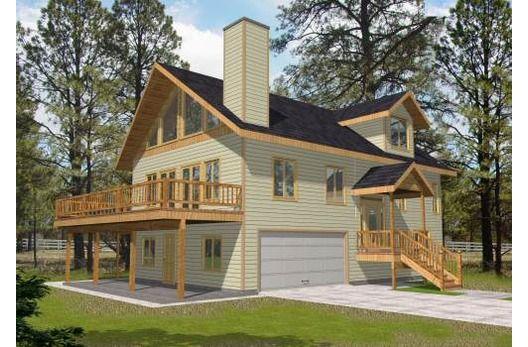 Bungalow Style House Plan 3 Beds 250 Baths 2390 SqFt Plan 117 – Bungalow Garage Apartment Plans