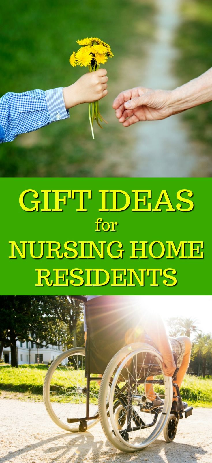 Gift ideas for nursing home residents with images