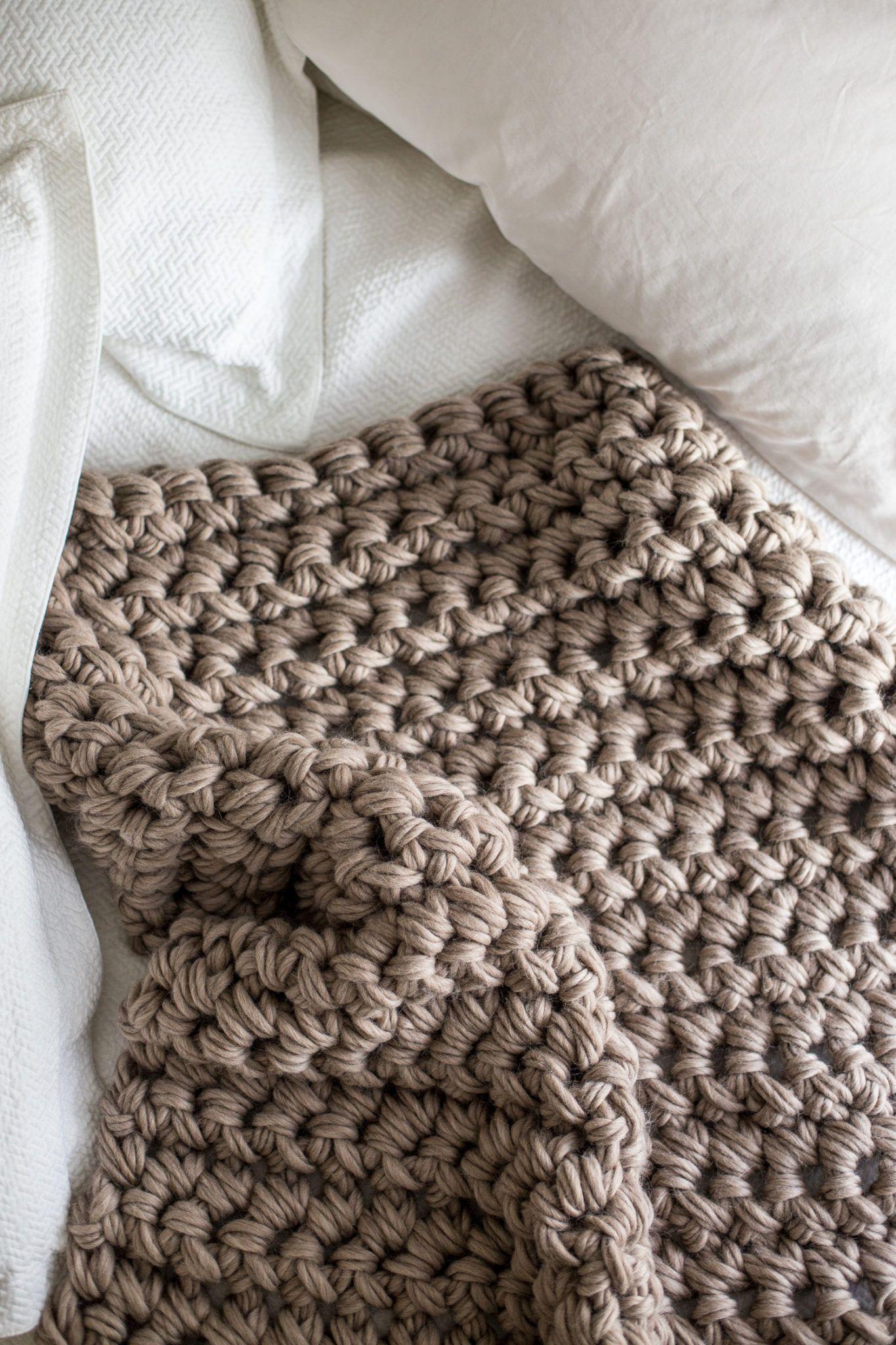 Gorgeous Hand Crochet Blanket In An Hour Crochet Throw