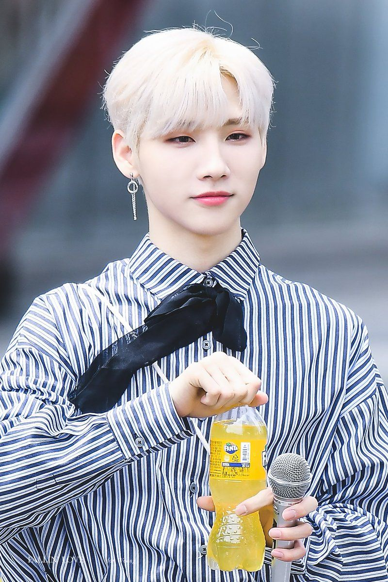 190525 Jeon Woong At Mini Fanmeeting Outside Mbc New Music Jeon Boy Groups