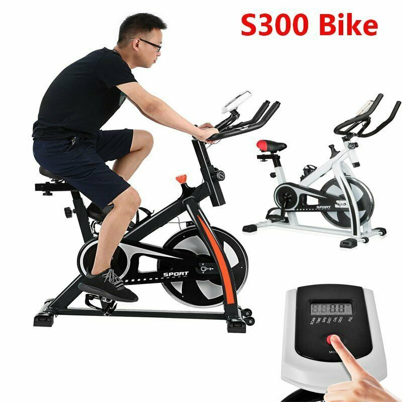 Details About S300 Exercise Bicycle Bike Cycling Cardio Health