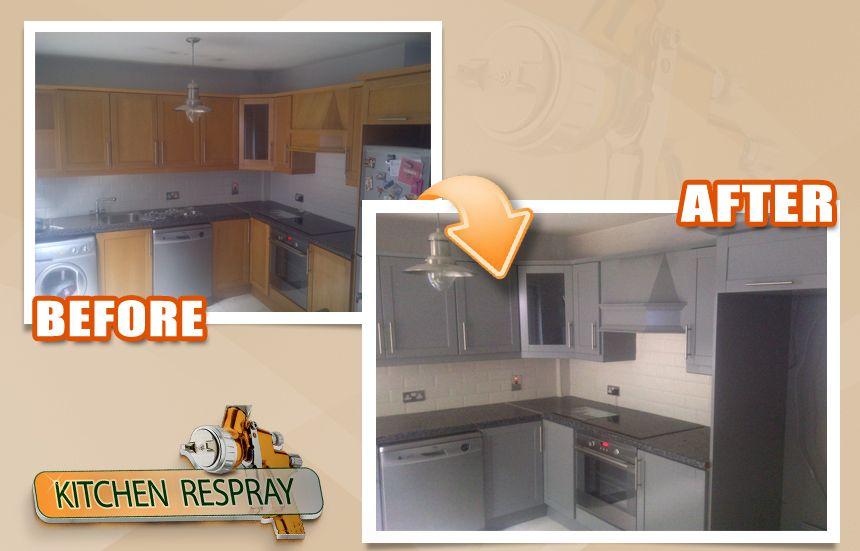 Best Kitchen Respray Farrow And Ball Manor House Grey Kitchen 400 x 300
