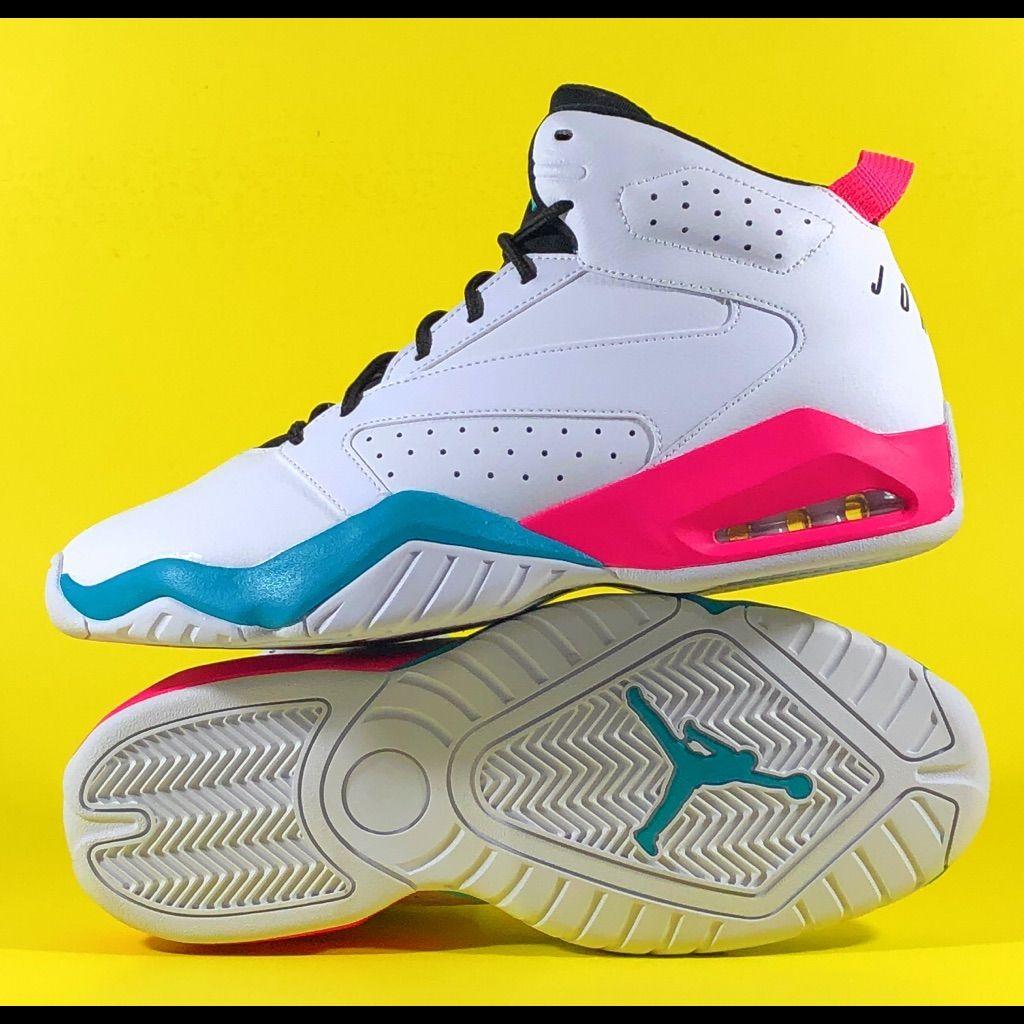 Jordan Lift Off South Beach Men's Basketball Shoes | Pink ...