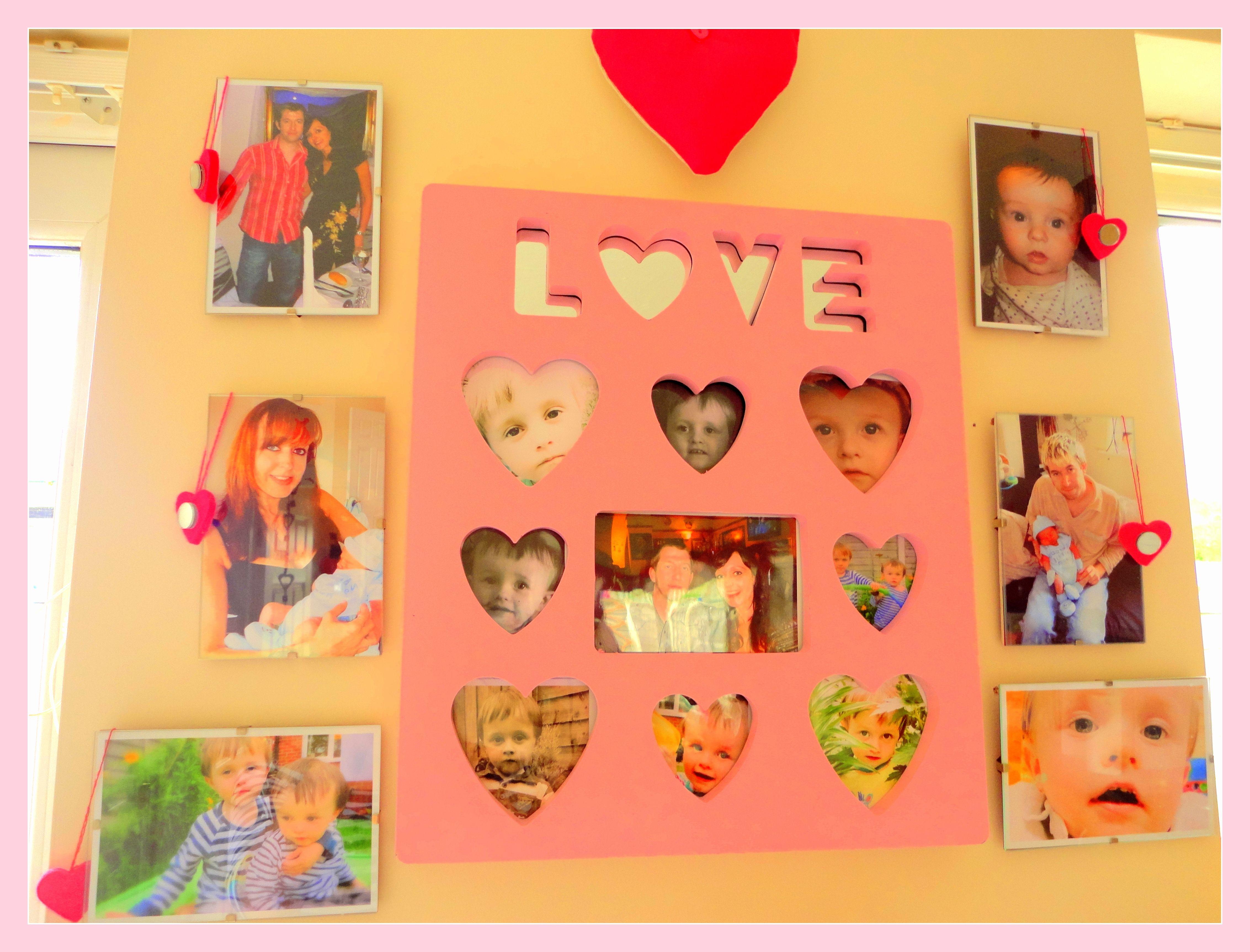 My pink photo board <3