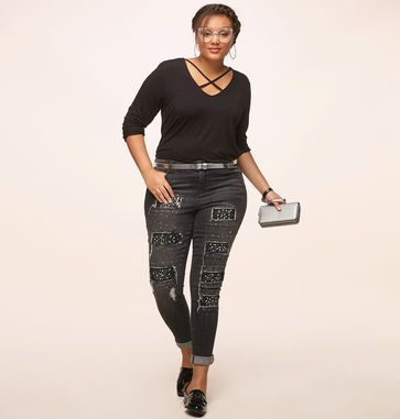 051afcd99d431 Discover a modern way to bring classic looks into your wardrobe with our plus  size Faux