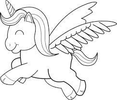 Kleurplaat pummeleinhorn Unicorn coloring pages Unicorn