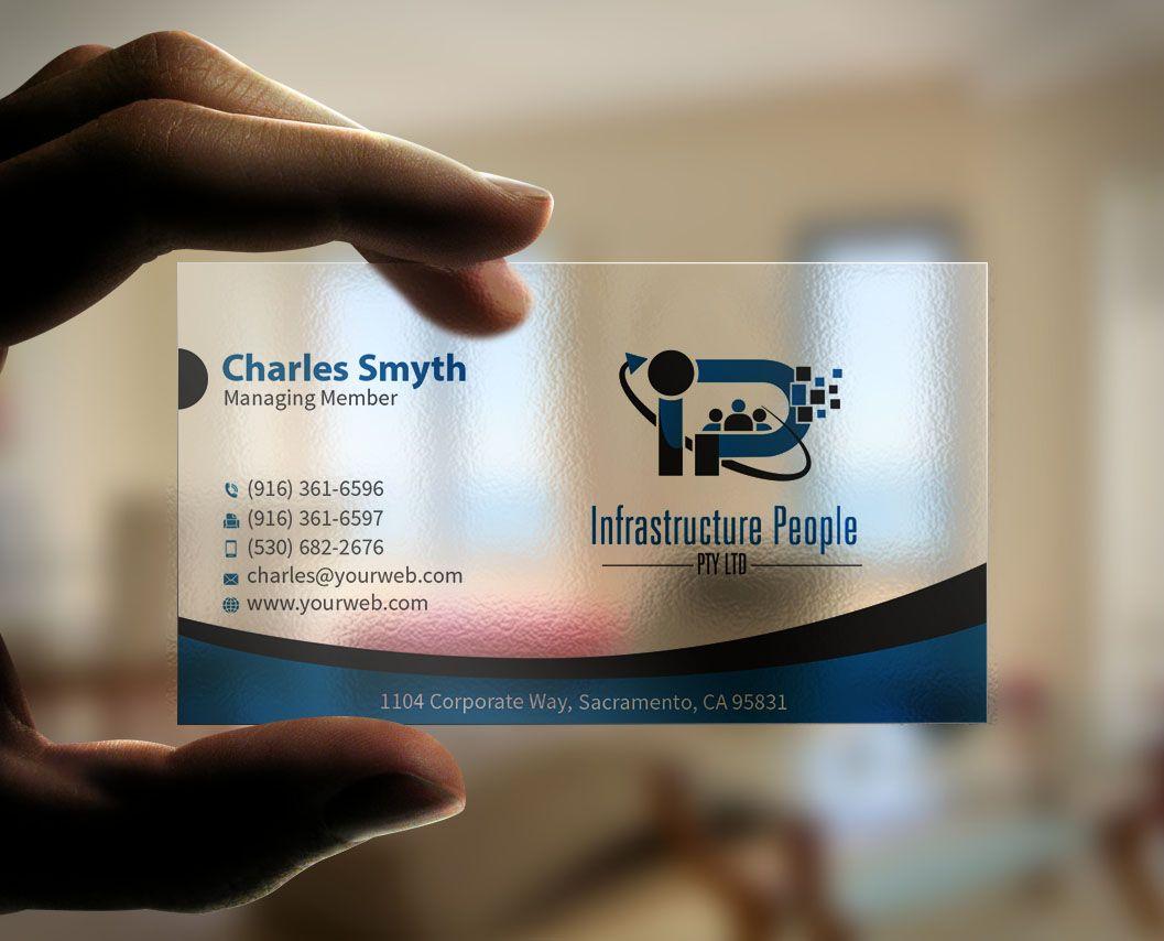 87 playful business card designs information technology