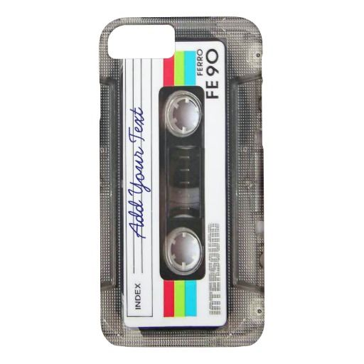 80s Retro Music Cassette Tape iPhone 8/7 Case