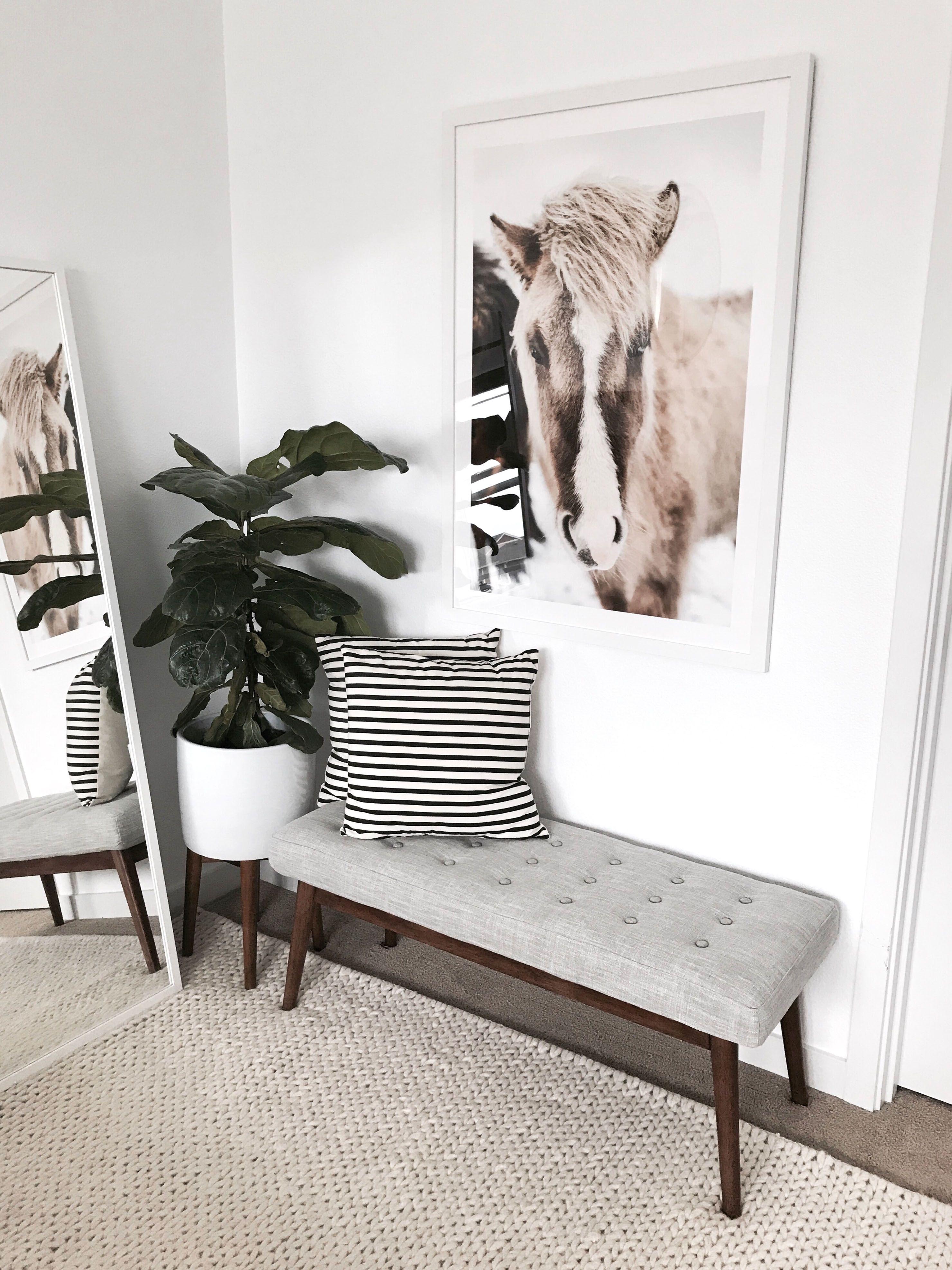 Artfully Walls horse print | Decor | Pinterest | Walls, Apartments ...
