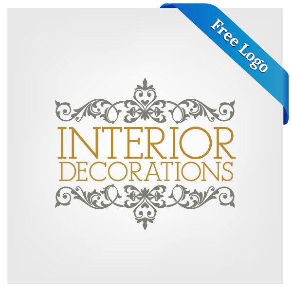 Free Vector Interior Decorations Logo Download In ai eps