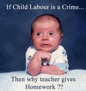If child labour is a crime...