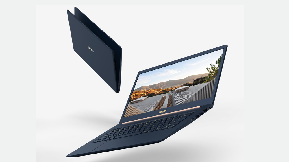 """Acer Swift 5 and Swift 3 Hefty Price on """"World's"""