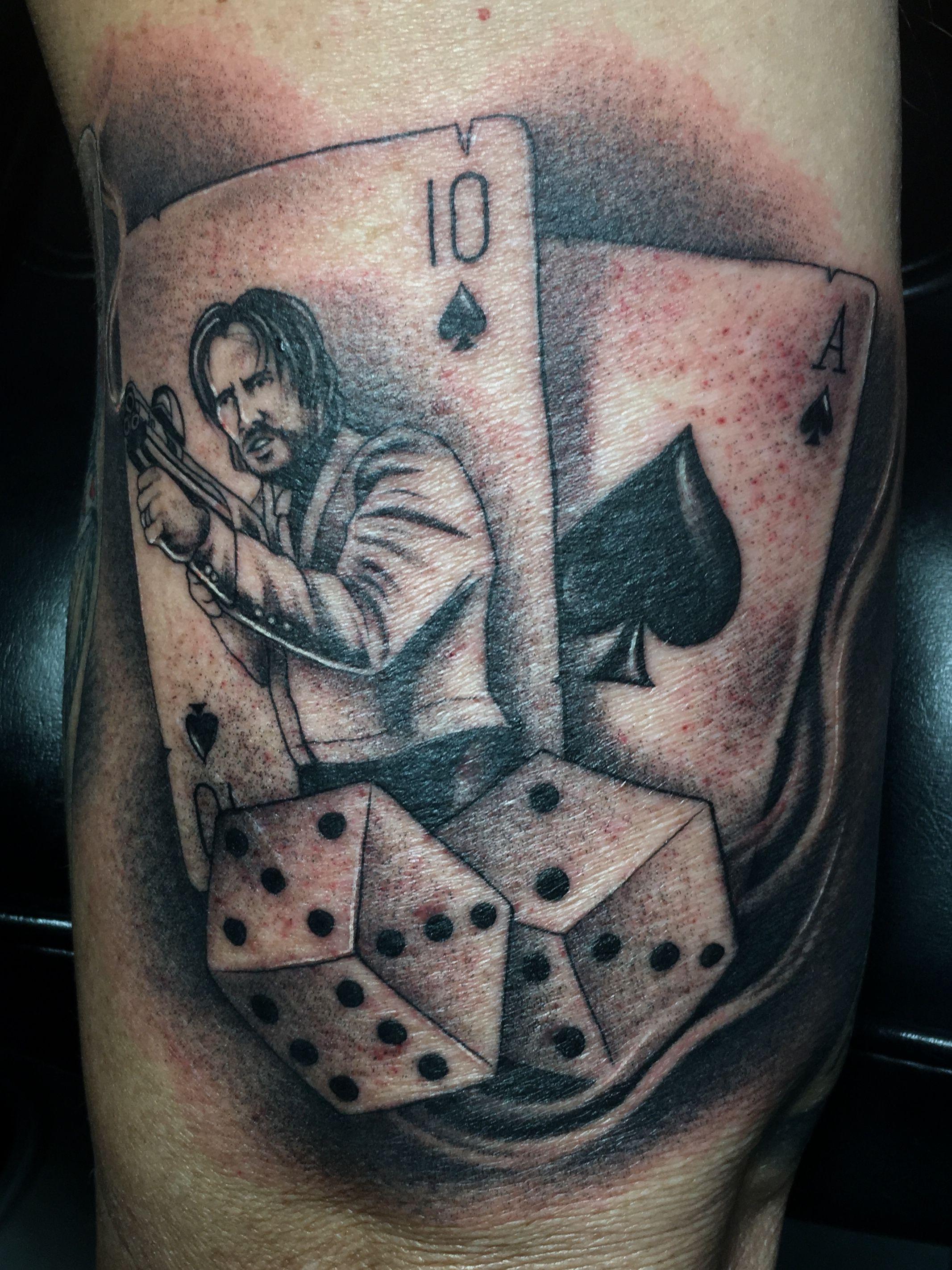 John Wick Playing Card Tattoo D 246 Vme