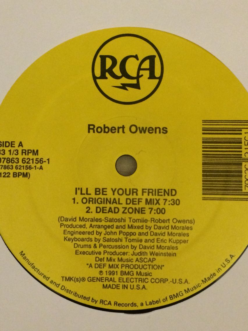 Robert Owens I Ll Be Your Friend Chicago House Music Old School House Ill