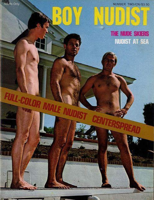 BOY NUDIST Vintage Magazines, Gay, Vintage Journals