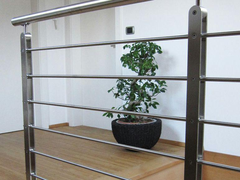baranda de escalera de acero inoxidable twin plus lnea twin by wolfsgruber