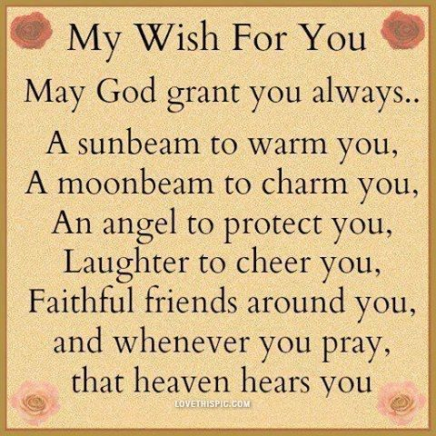 My Wish For You Life Quotes Quotes Quote Life Quote WORD Inspiration Religious Quotes About Life