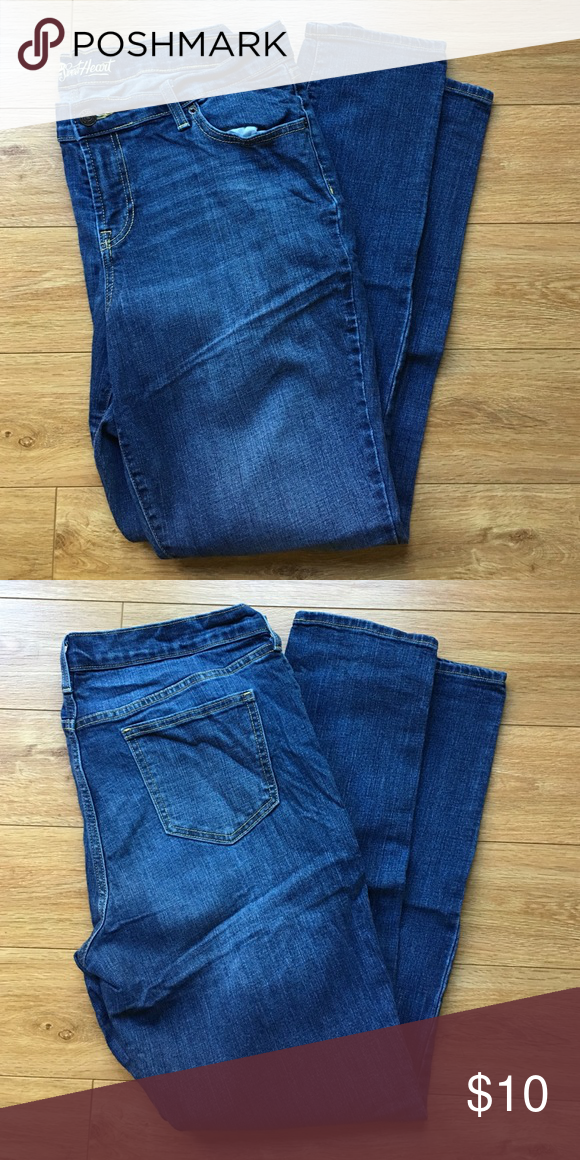 Old Navy Sweetheart Skinny Jeans Old Navy Sweetheart Skinny Jeans; size 14. Barely worn! Old Navy Jeans Skinny