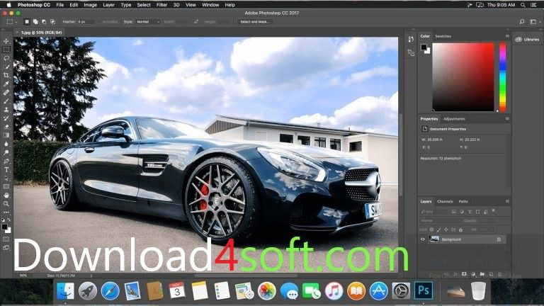 Adobe Photoshop CC 2017 DMG For Mac OS Free Download Latest Version