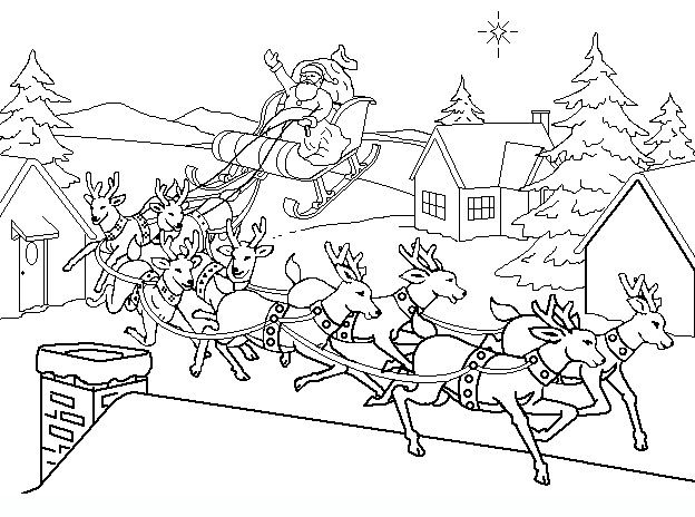 Christmas 19 Christmas Coloring Pages Disegni Da Colorare Natalizi