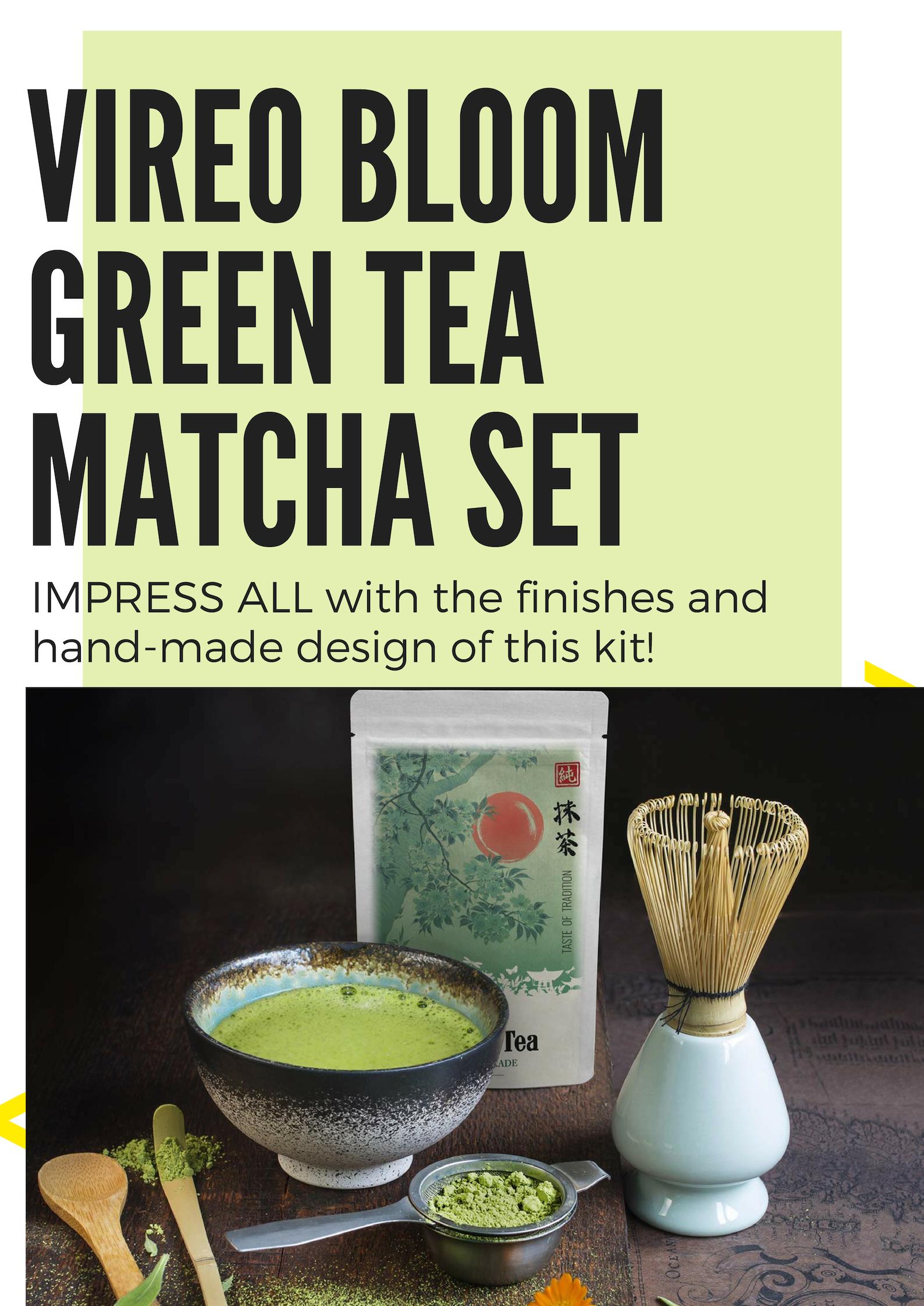 50g Vireo Bloom Prämie Grade Tee Kit Mit Bambusschaufel