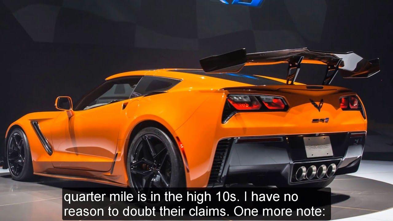 Review 2019 Chevrolet Corvette Zr1 Mt Cars