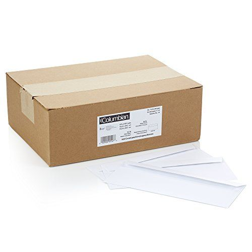Columbian 10 Grip Seal Envelopes 4 1 8 X 9 1 2 White 500 Per Box Co147 Envelope Things To Sell Envelope Template