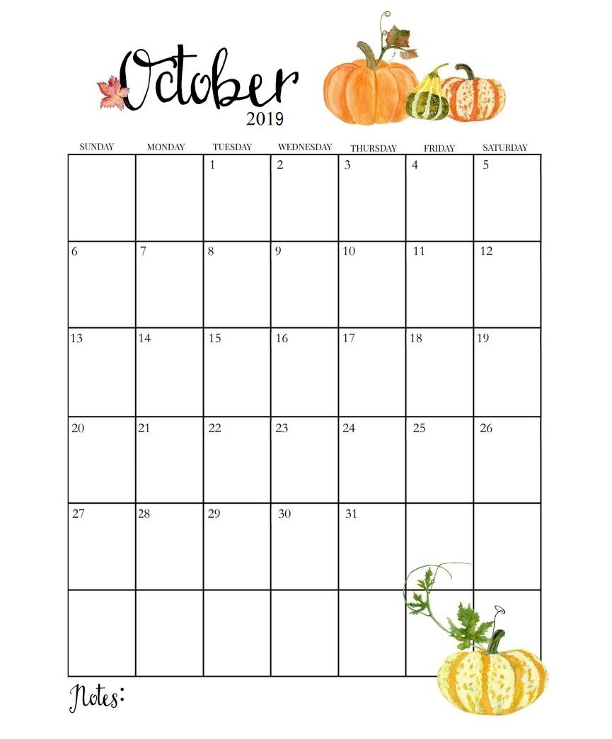 graphic relating to Printable Calendar for October identified as Lovely Oct 2019 Calendar Coaching \u003c3 Oct calendar