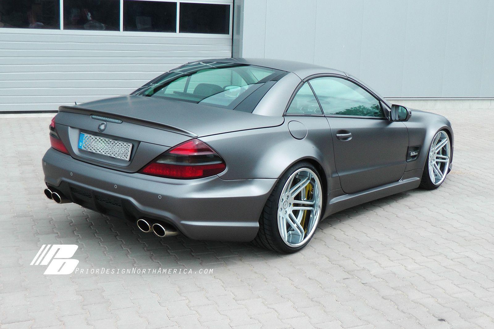 Prior Design Mercedes Sl Widebody Facelift Conversion Matte Grey