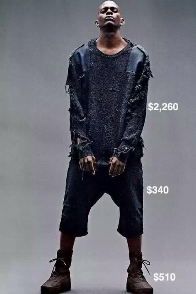 Kanye West Homeless Fashion Line Creativity Post Yeezy Outfit Yeezy Season 1 Kanye West Adidas Yeezy