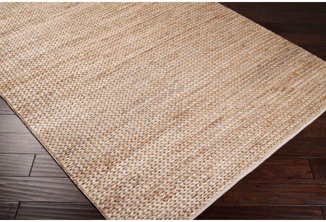 Tropics Jute Rug Natural Teppich