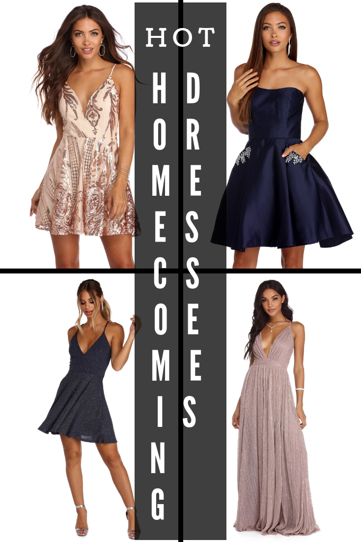b3825acf5ce 2018 Hot Homecoming Dresses! Amazing Styles