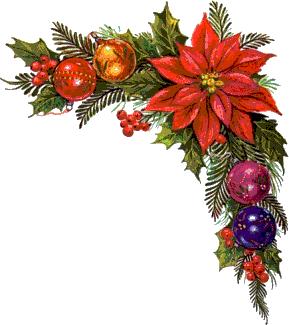 Border Designs Graphics Christmas Flowers Corner Borders Design Animated Christmas Decorations Christmas Wreath Frames Christmas Flowers