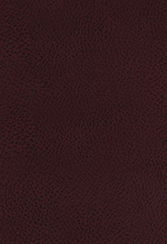 cefeec3eb KJV The King James Study Bible Bonded Leather Burgundy Red Letter  Full-Color Edition