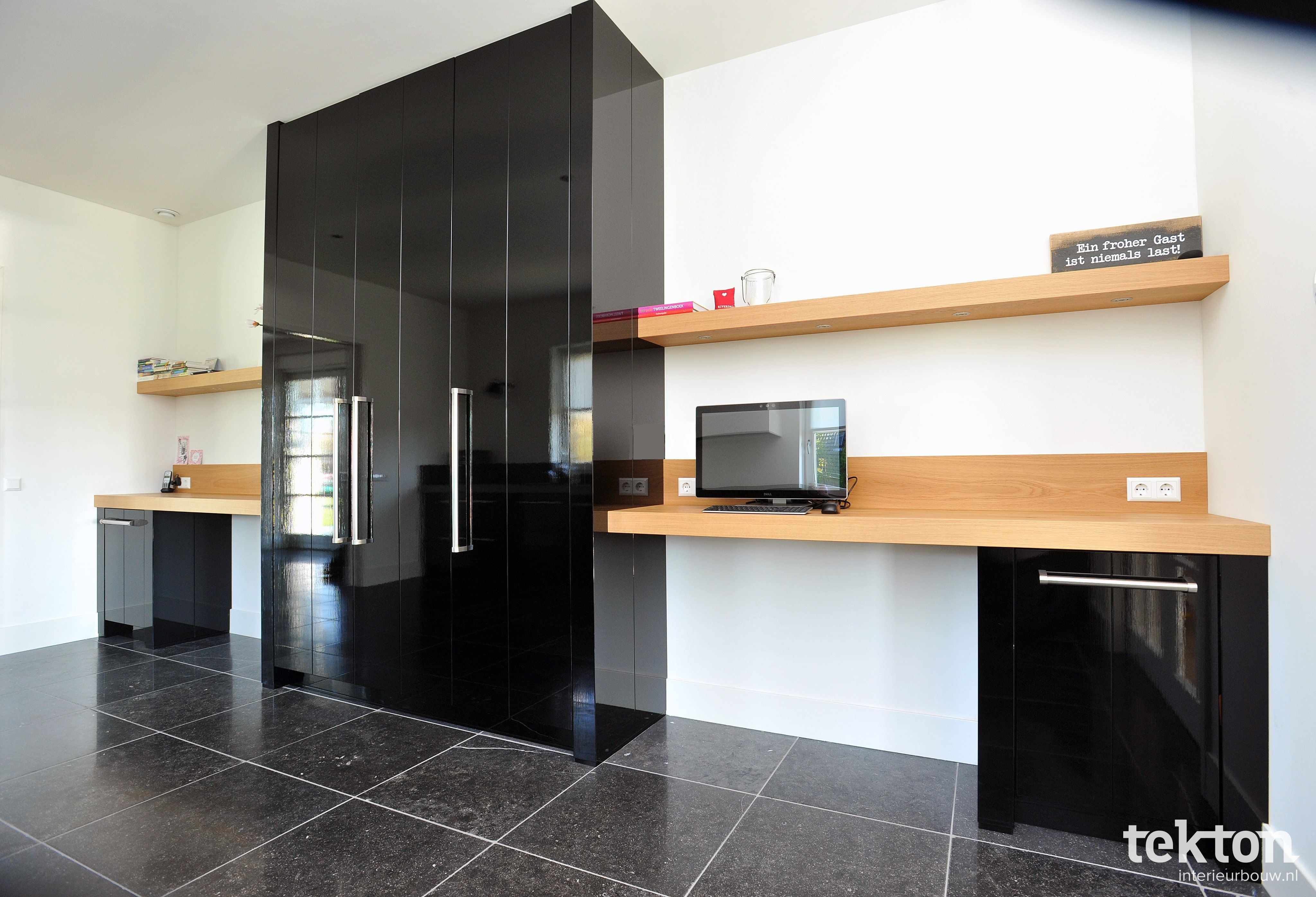 Keuken zwart hoogglans strijklak keukens pinterest