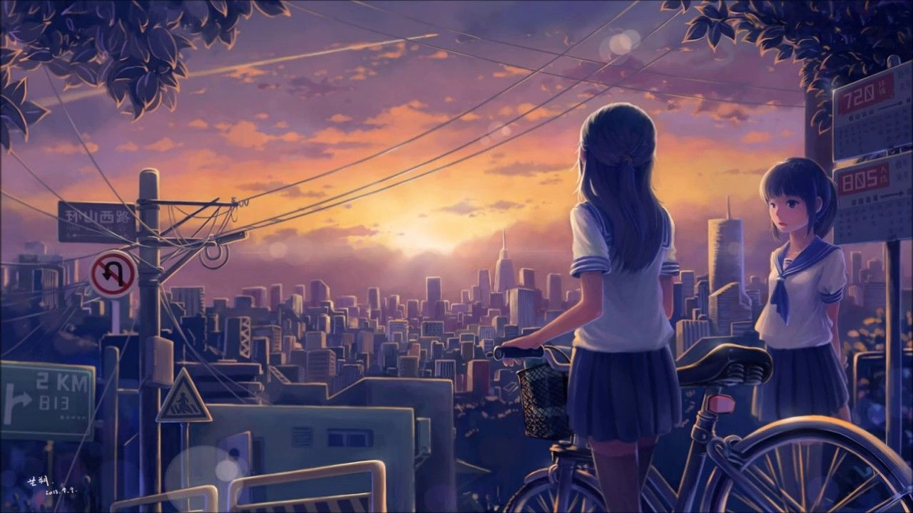 Nightcore Not Another Song About Love 1 Hour Anime Scenery Anime Background Scenery