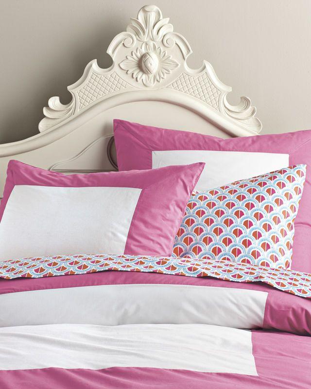 Color Frame Duvet Cover Sham Girl Beds Kid Room Decor Home