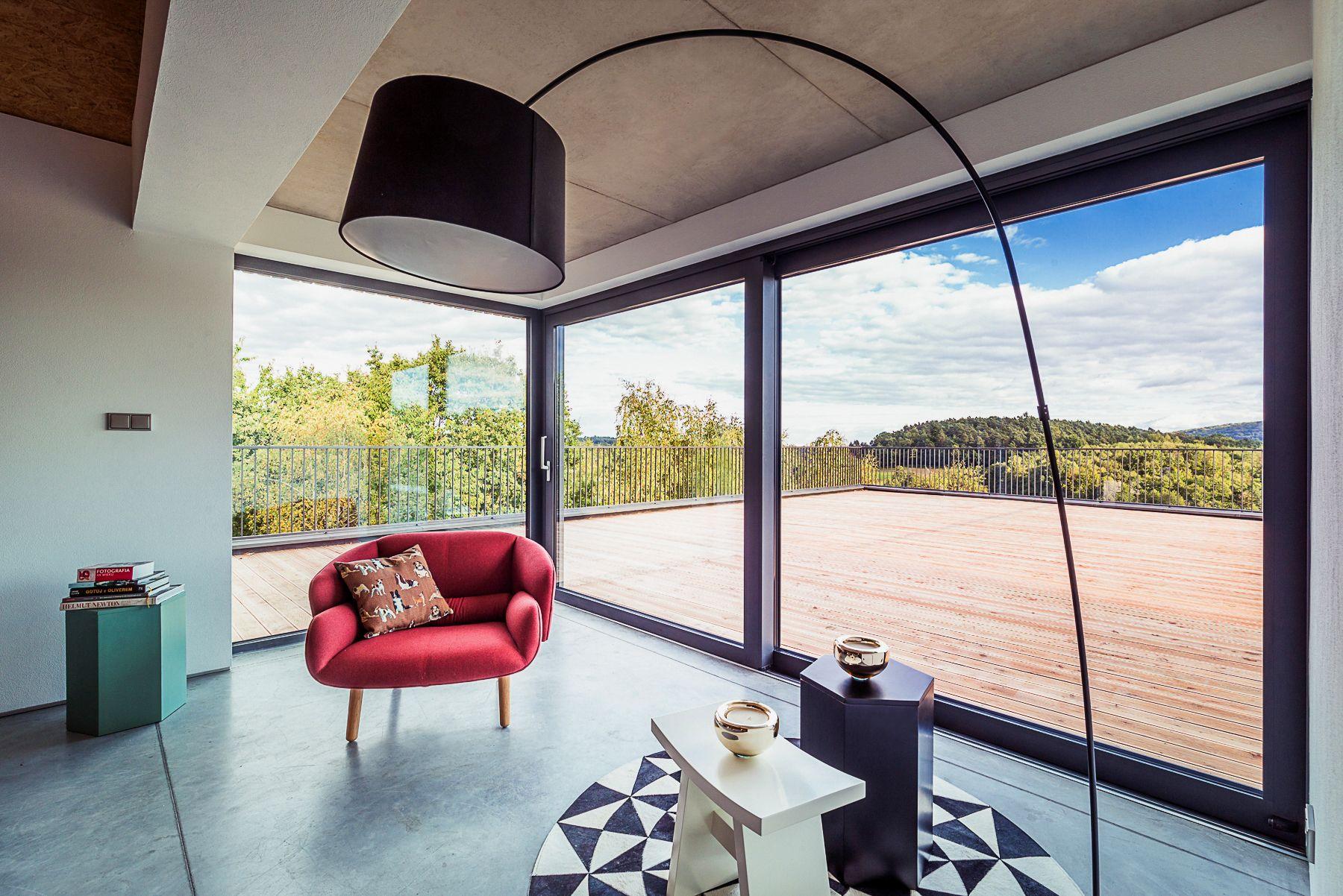 Prandina Mobili ~ Une large baie vitrée pour faire entrer le soleil au cœur de votre