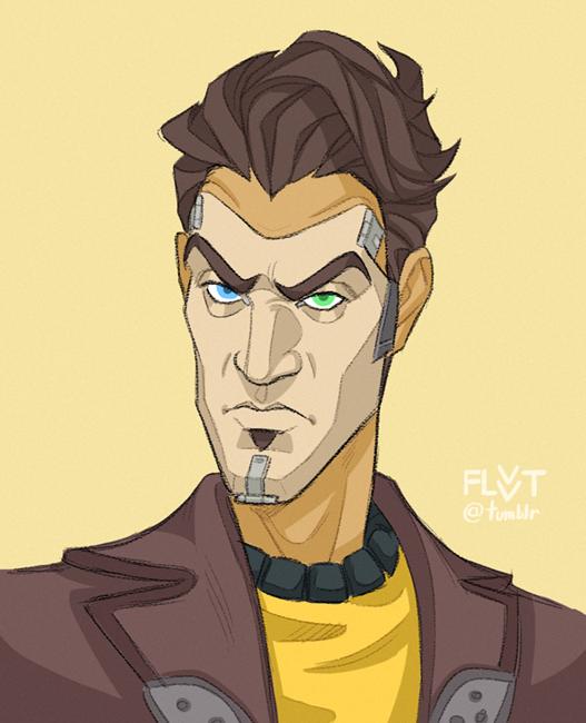 Handsome Jack By Flvvt On Tumblr Handsome Jack Borderlands
