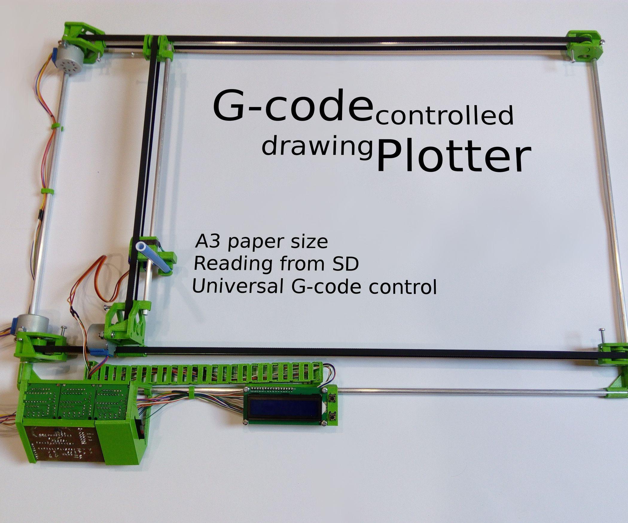 Drawing Plotter Drawing Machine 3d Printer Printer
