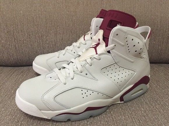 9aabd0cedb4abf 2015 Nike Air Jordan 6 Retro Off White New Maroon Sneakers Size 12 384664  116  fashion  clothing  shoes  accessories  mensshoes  athleticshoes (ebay  link)