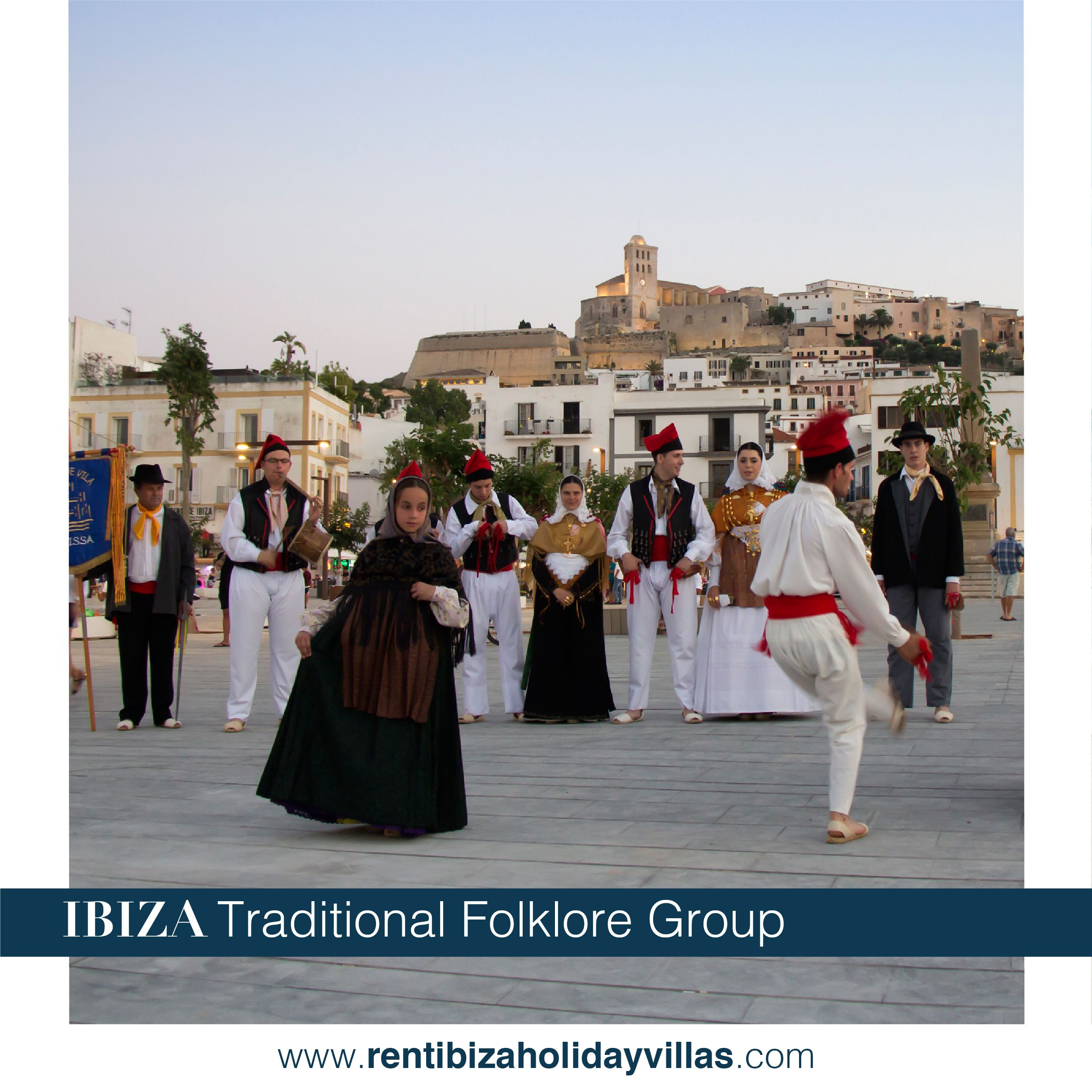 Baile Payes Is The Tradicional Dance Of Ibiza From Unknown
