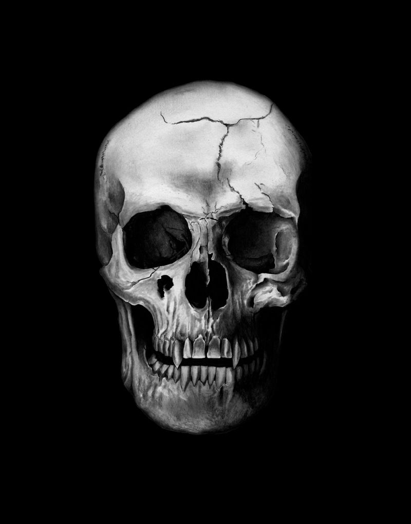 Download Vampire Skull wallpapers to your cell phone red skull