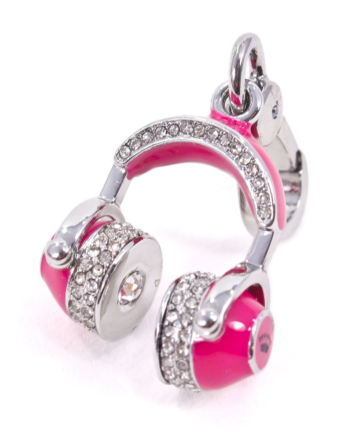 Details About Juicy Couture Pink Headphones Charm New